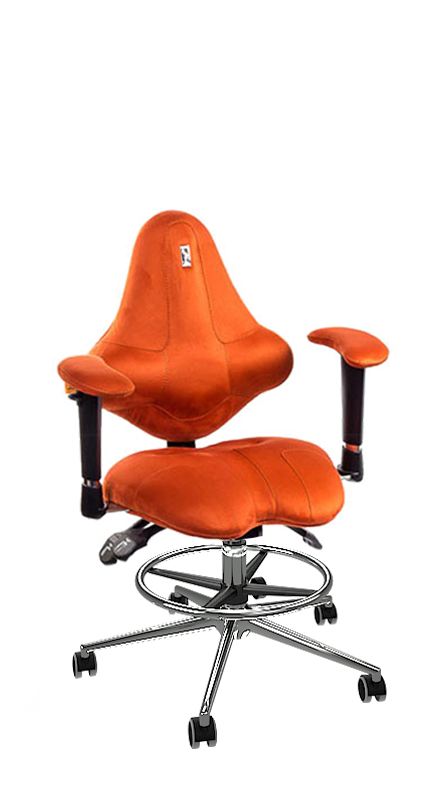 Детски ергономичен стол Kulik System Kids Orange