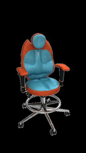 Детски ергономичен стол Kulik System Trio Orange Blue