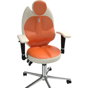 Детски ергономичен стол Kulik System Trio Orange White