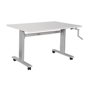 Ергономично Stand up бюро на колелца ERGO SUPER - 100 Стомана