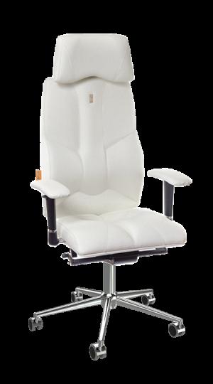 Ергономичен офис стол Kulik System Business White