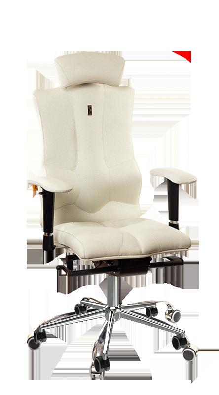 Ергономичен офис стол Kulik System Elegance White