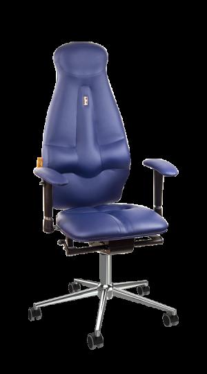 Ергономичен офис стол Kulik System Galaxy Blue