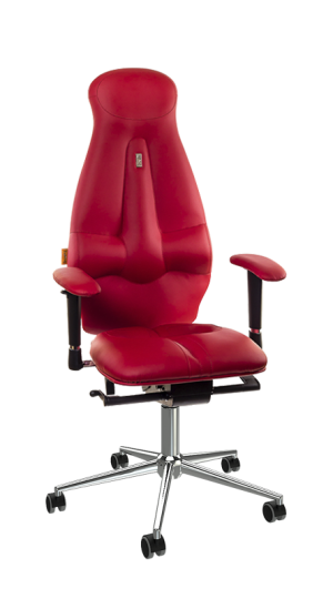 Ергономичен офис стол Kulik System Galaxy Red