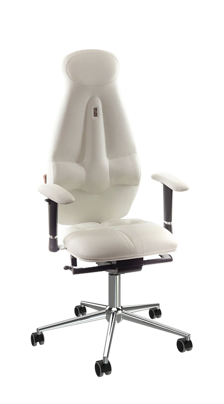 Ергономичен офис стол Kulik System Galaxy White