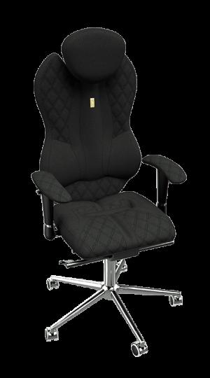 Ергономичен офис стол Kulik System Grand Black