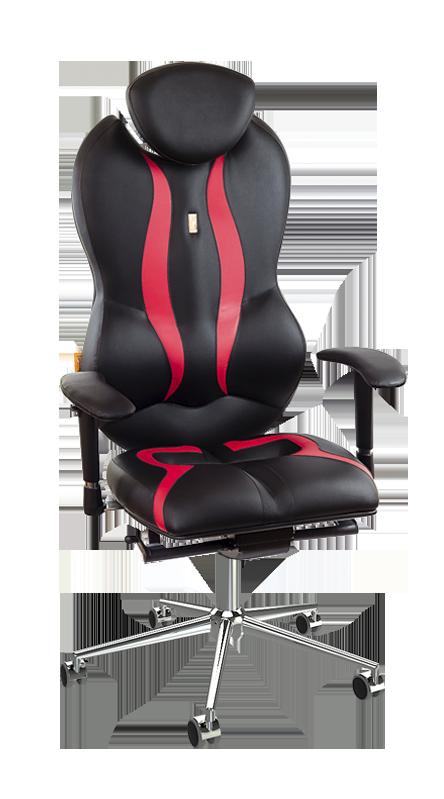 Ергономичен офис стол Kulik System Grand Black-Red