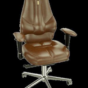 Ергономичен офис стол Kulik System Imperial Brown