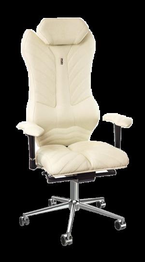 Ергономичен офис стол Kulik System Monarch White