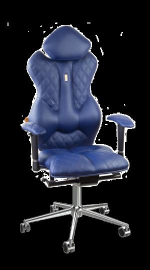 Ергономичен офис стол Kulik System Royal Blue