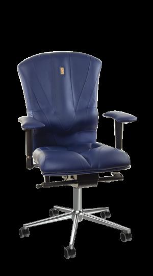 Ергономичен офис стол Kulik System Victory Blue