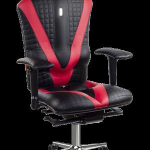 Ергономичен офис стол Прошит Kulik System Victory Black