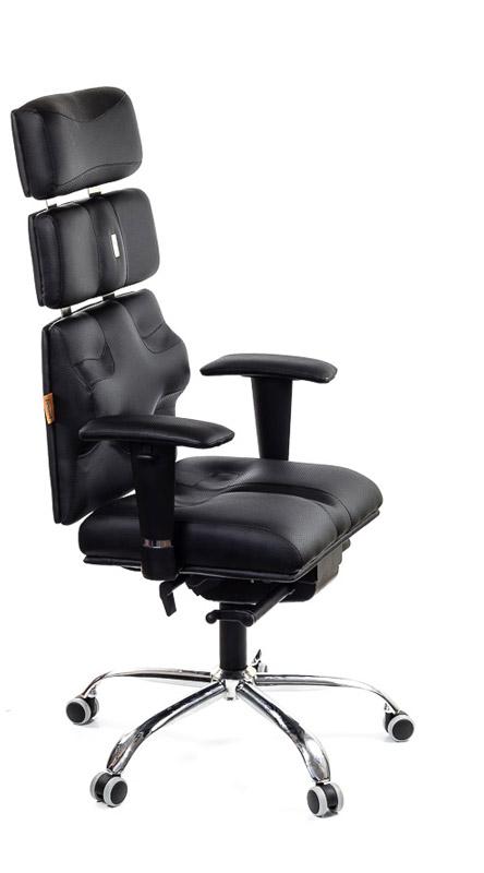 Ергономичен офис стол Kulik System Pyramid Black