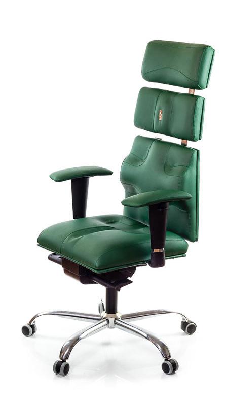 Ергономичен офис стол Kulik System Pyramid Green