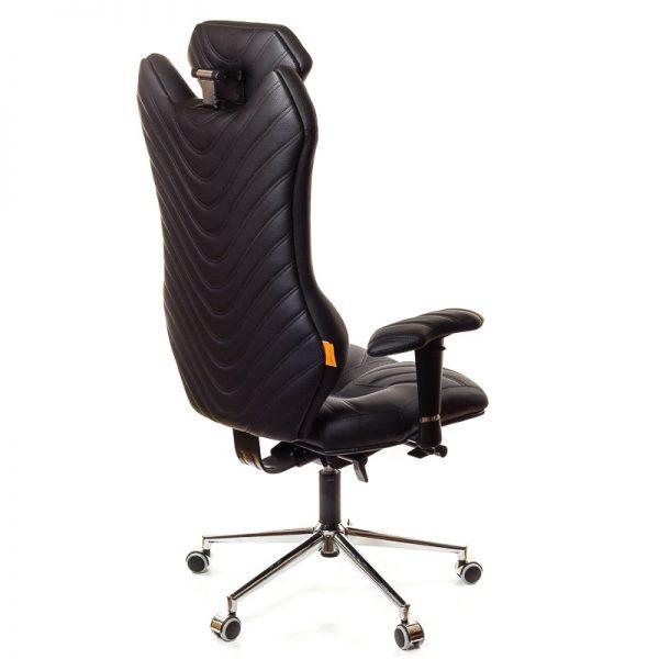 Ергономичен офис стол Kulik System Monarch Black