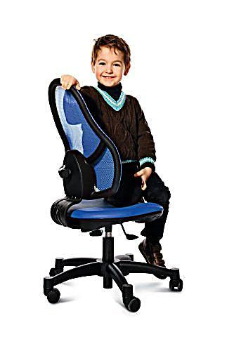 Детски Ергономичен стол Open Art Junior - Зелен