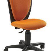 Детски ергономичен стол High School - Оранжев