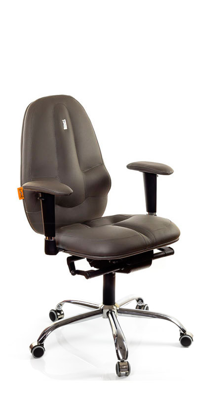 Ергономичен офис стол Kulik System Classic Gray